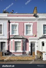 Build A Victorian House Typical Small 19th Century Victorian Period Stock Photo 579195784