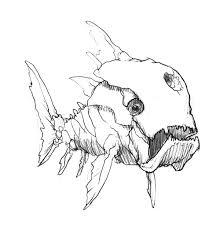 primitive giant monster fish colouring primitive giant