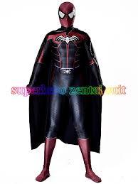 Body Halloween Costumes Adults Spider Bat Costume 3d Shade Spandex Fullbody Halloween Cosplay
