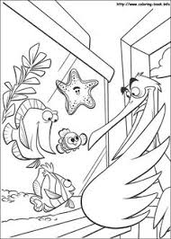finding nemo coloring picture disney coloring pages pinterest
