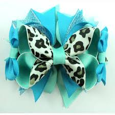 leopard ribbon 5 inch leopard ribbon match cool colors design boutique