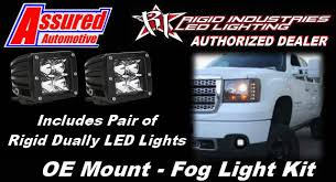 Ebay Led Lights Rigid Fog Light Brackets With Dually Led Lights For 07 13 Gmc