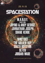 ra spacestation m a n d y at ministry of sound london 2013