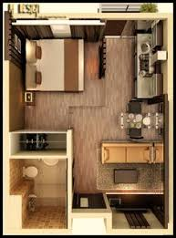 Three  Bedroom ApartmentHouse Plans Bedroom Floor Plans - Small studio apartment designs