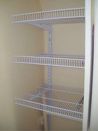 wire closet shelf system
