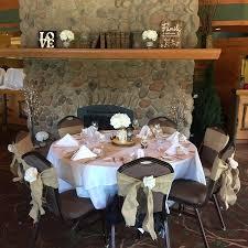 Wedding Table Set Up The Wedding Table Set Up Picture Of Pyramid Lake Resort Jasper