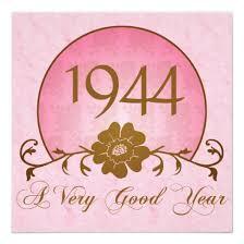 1944 70th birthday invitations for her invitations 4 u