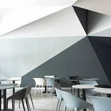 wnde streichen ideen farben 3d wand streichen ideen schwarz grau weiße farbe ideen rund ums