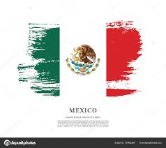 mexican flag banner template u2014 stock vector igor vkv 137862388