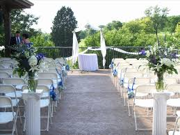 planning a small wedding at home lovely simple outdoor wedding