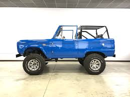 jeep bronco white ford bronco restoration maxlider brothers customs