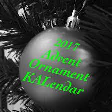 ravelry 2017 advent ornament kalendar pattern by natalie servant