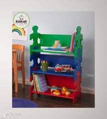 Wall Bookshelves For Kids Room by Furniture White Dollhouse Bookcase With Flat Roof For Kids Room
