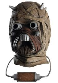 Halloween Costumes With Gas Mask by Tusken Raider Latex Mask