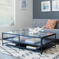 shadow box coffee table west elm