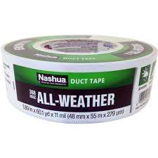 Duck Hold It For Rugs Tape Nashua Tape 1 89 In X 60 Yd 398 All Weather Hvac Duct Tape In
