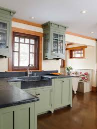 Kitchens With Green Cabinets by The Guild Scott Seuren Of Bucks County Soapstone Bucks County