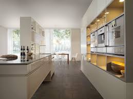 the best kitchen design small galley kitchen design in walnut color the best colors for