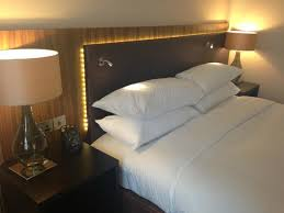 nice headrest and comfy bed picture of hilton london wembley