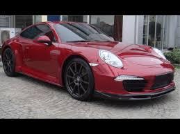 porsche carerra 911 2012 2015 porsche 911 991 sport style 2pc front bumper