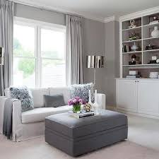 Curtains For Grey Living Room Gray White Living Room Corner Design Ideas