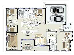 floor plans for 4 bedroom houses unique 4 bedroom house plans awtomaty club