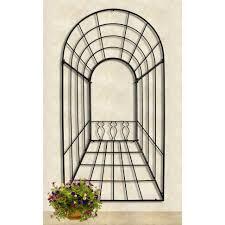 outdoor trellis and arbor design inmyinterior garden fence loversiq home decor large size black outdoor trellis wayfair 3 d ii by achla inexpensive