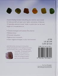 crystal healing judy hall 8601416108452 amazon com books