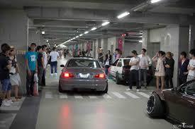 jdm car meet parking deck shenanigans x super street meet