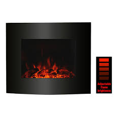 electric led fireplace wall mounted with mantle chiminea home