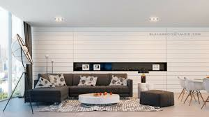 modern brown white living room interior design ideas