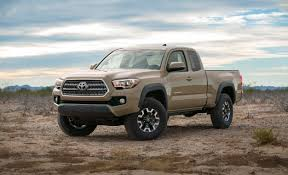toyota tacoma 2016 models 2016 toyota tacoma prices leak ahead of fall debut car