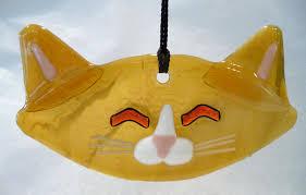 art glass cat ring holder images Simply divine art glass jpg