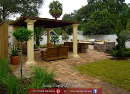 Pleasing Patio Designs Diy Patio Backyard Ideas Saveemail - Italian backyard design