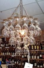 Chandelier Wine Glass Chandelier 31 Wine Glass Chandelier Rentals Seattle Wa Where To