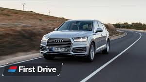 audi q7 autotrader 2016 audi q7 e drive review