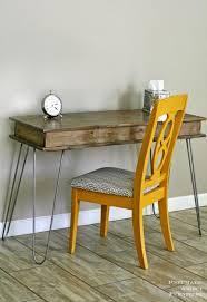 industrial hairpin leg desk fashionable industrial diy hairpin legs vanity shelterness