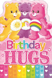 care bears birthday hugs birthday card ebay