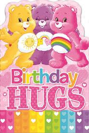 care bears birthday hugs birthday card ebay