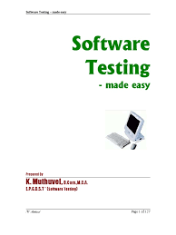 software testing made easy software testing software