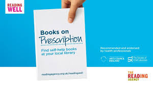 the reading well books on prescription for dementia scheme arrives