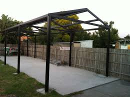 gamble roof our latest gable roof steel pergola job in victoria