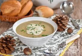 cuisiner la chataigne soupe de châtaigne amour de cuisine
