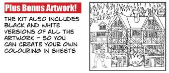 great sheets colouring sheets great fire of london fire clipart great fire