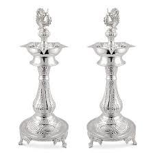 silver items peacock l set shivani crafts