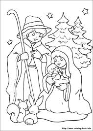 154 images christian christmas coloring pages