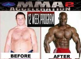 Buff Guy Meme - in just 12 weeks you can go from a fat white guy to a buff black