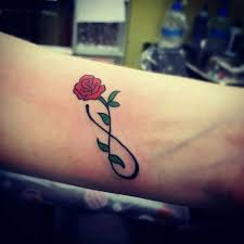 41 graceful flowers wrist tattoos