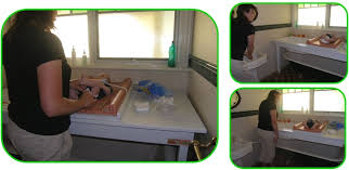 Changing Table System Change Table Bath For Newborn Baby To Children