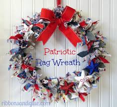 4th of july wreaths make a patriotic wreath from recycled denim